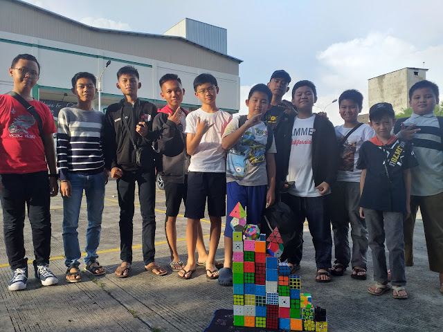 Dokumentasi saat gathering bersama Lubuklinggau Cubers Community di salah satu mall kota Lubuklinggau. Sumatera Selatan