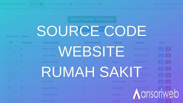 Download Source Code Website Rumah Sakit dengan PHP MYSQL