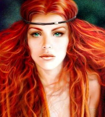HilaMoon: NOI, donne dai capelli rossi