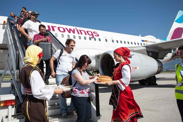 Eurowings started to connect Germany with Ohrid