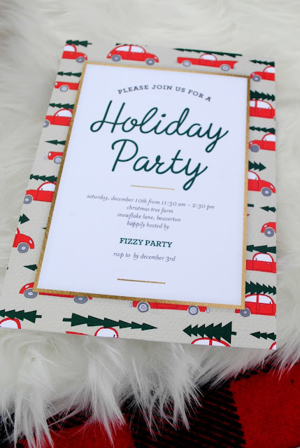 Shutterfly Invitation. See the party inspiration at FizzyParty.com