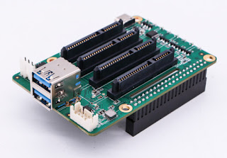 Rock Pi SATA HAT open doors for Raspberry pi 4 in cloud servers