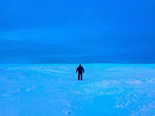 Walk on the sea ice of Arctic Ocean in Utqiagvik / Barrow Alaska | Supratim Sanyal's Blog (C) 2020 Supratim Sanyal