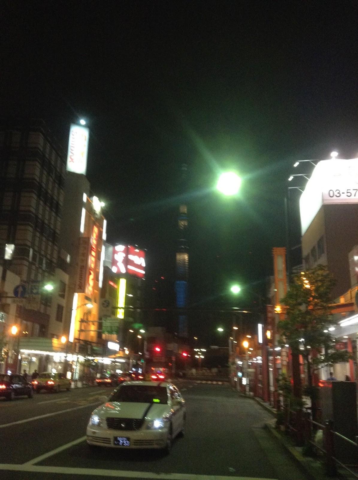 Japanese streets Asakusa