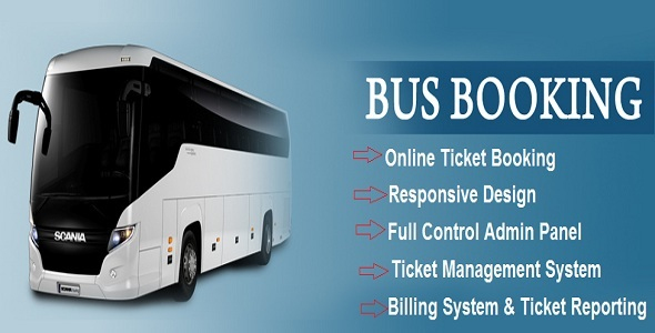 CodeCanyon - eBus v1.0 - Online Bus Reservation & Ticket Booking System