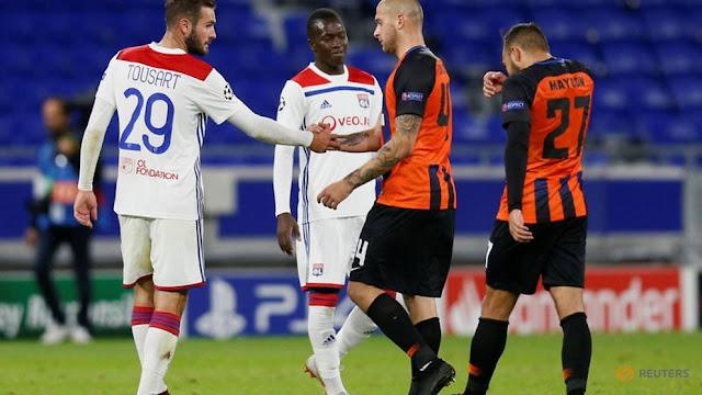 Lyon vs Shakhta Donetsk