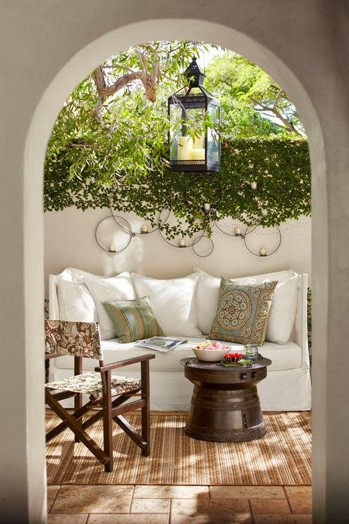outdoor chic