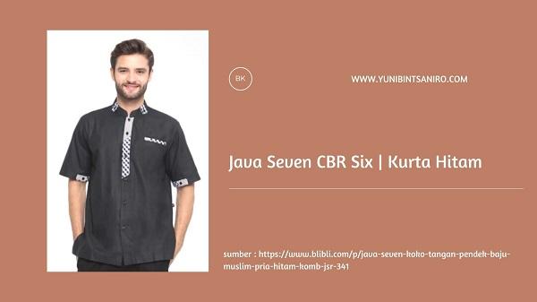 Baju Kurta Hitam dari Java Seven