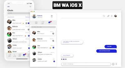 [BM WA iOS X] - Download BMWhatsApp APK V8.71 iOS Edition Latest Version
