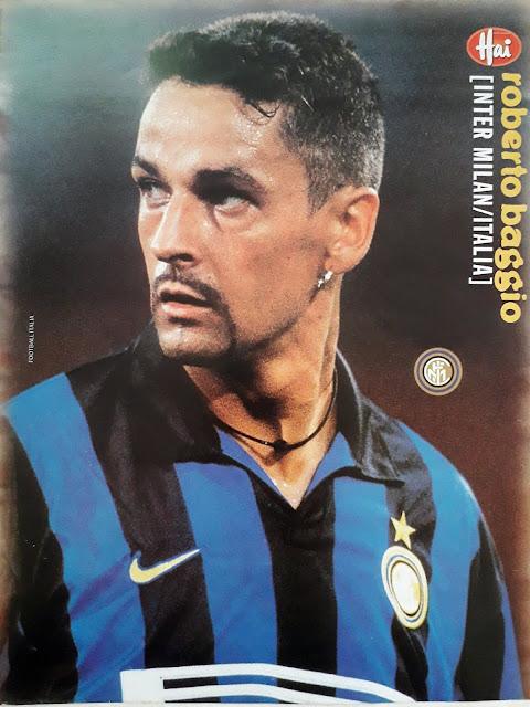 ROBERTO BAGGIO INTER MILAN 1998