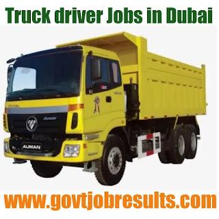 Truck driver jobs in Saudi Arabia