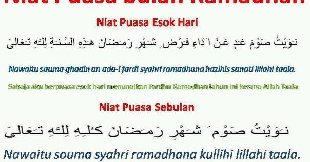 Jadual Berbuka Puasa Dan Imsak Seluruh Negeri Kelantan 2017