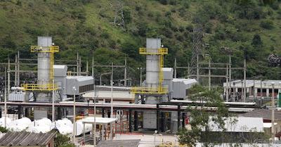 foto da usina termoeletrica da petrobras de juiz de fora minas gerais