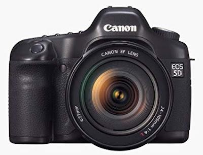 Canon EOS 5D DSLRフルドライバーをダウンロード