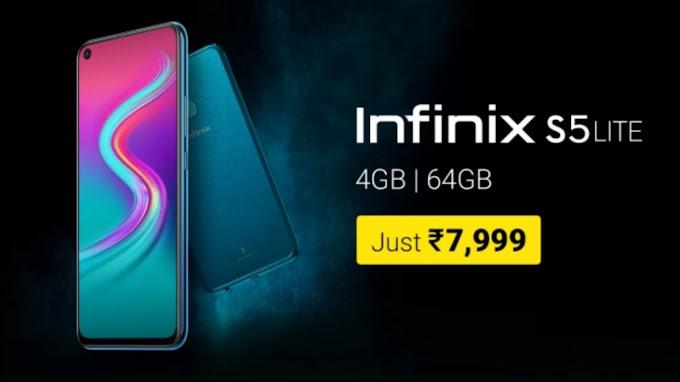 Tech News: About Infinix S5 Lite