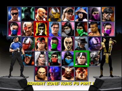 Roster MK Trilogy 1996