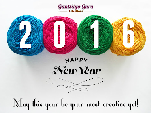 Happy New Year, Gantsilyo Gang!