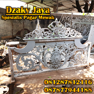 Pembuatan Pagar Besi Tempa Klasik full Ornamen