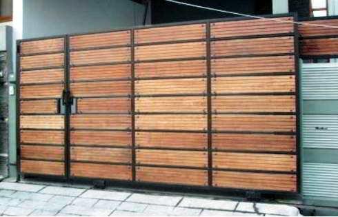 60 Model Desain Pintu Pagar Rumah Minimalis Terbaru