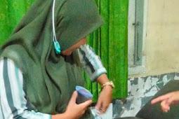 Suka Duka Petugas Vaksinator Menembus Medan Sulit di Lombok Tengah