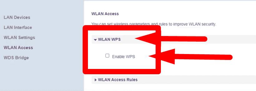 الطريقة الصحيحة لاغلاق خاصية wps فى راوتر هواوى dg8045