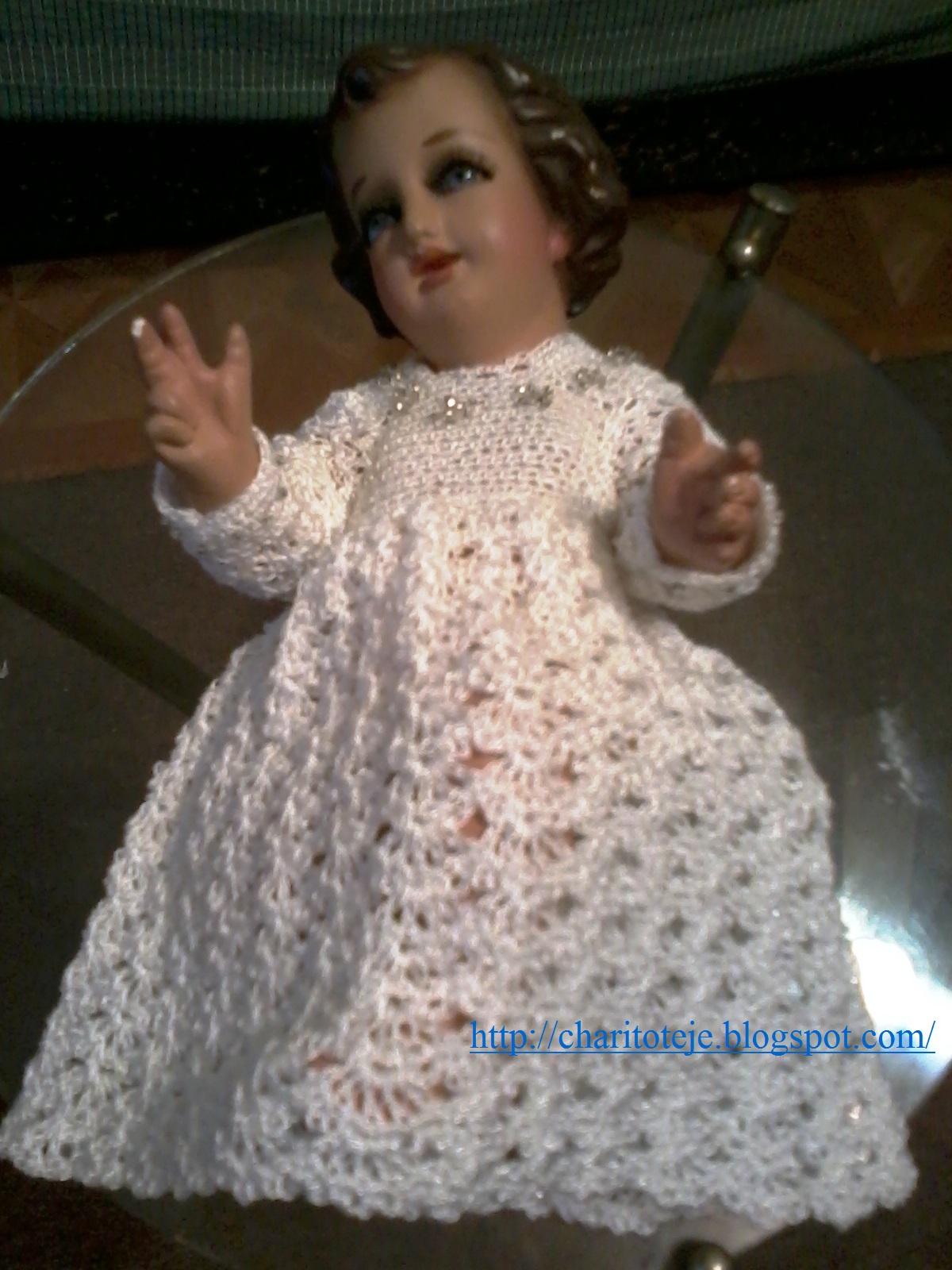 Vestido Tejido Niño Dios Imagui