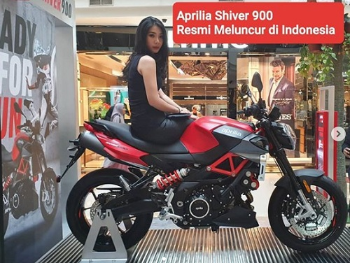 Aprillia Shiver 900 Resmi diluncurkan