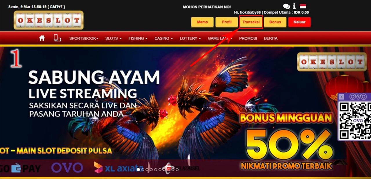 Cara Transfer Dana Ke Dompet Permainan Desktop Version