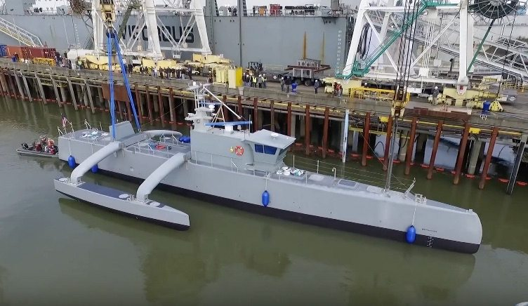 VIDEO: Your First Look at the Pentagon's New Unmanned Sub Chaser
