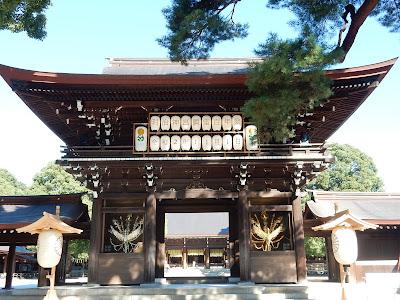 明治神宮楼門