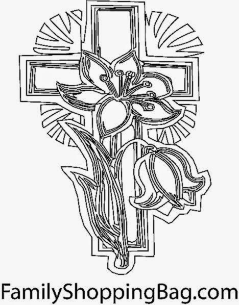 Free Coloring Pictures Coloring Pictures Of Crosses