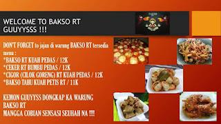 bakso pedas RT