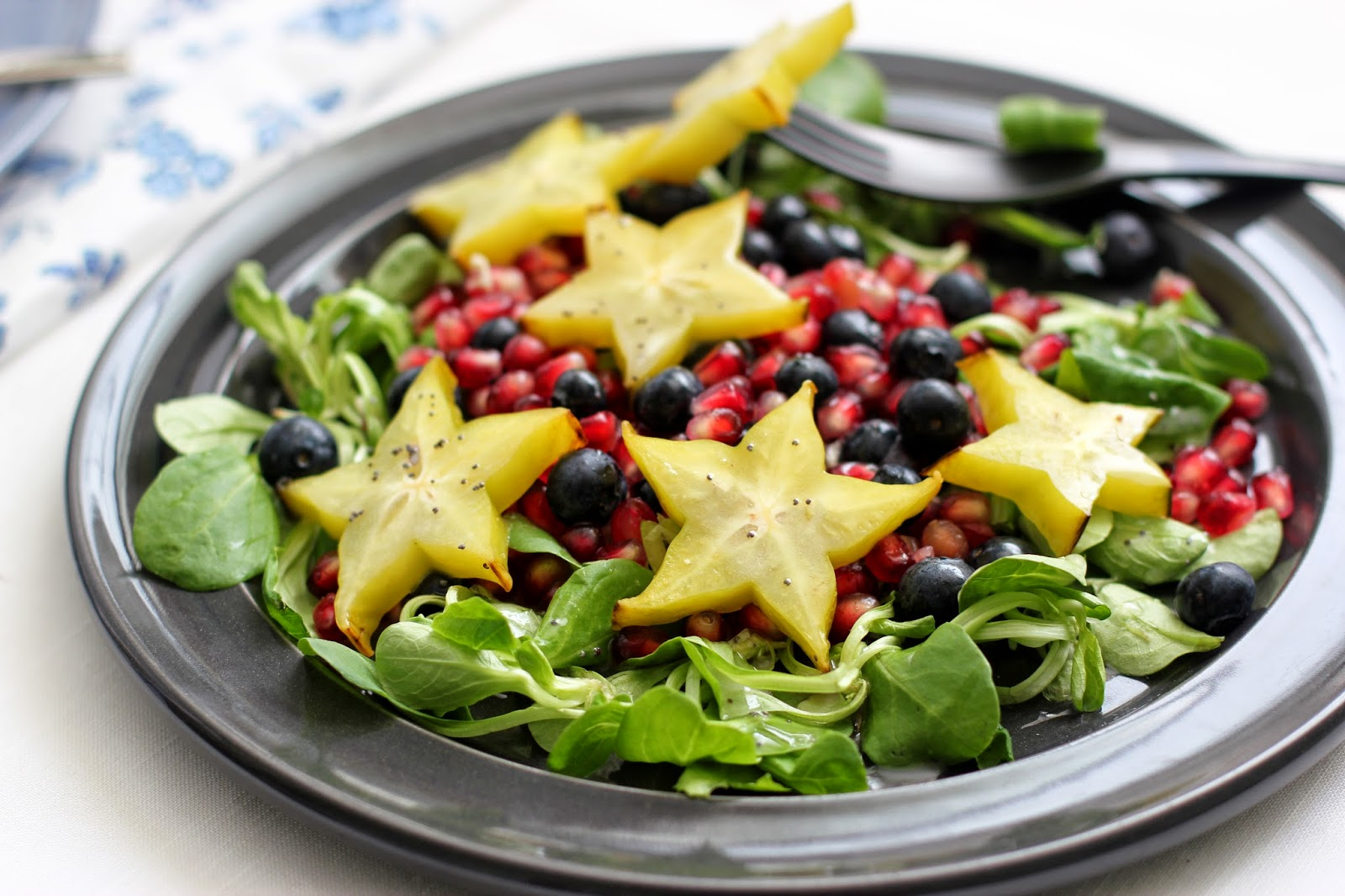 Pomegranate Fruit Salad