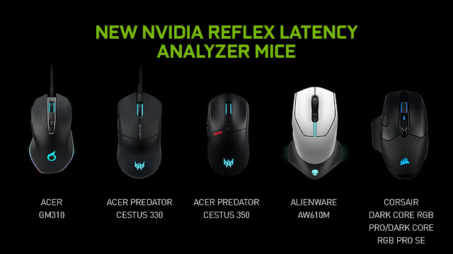 Nvidia Reflex Latency Analyzer Mice
