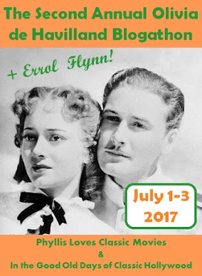 Olivia + Errol Blogathon -- July 1-3