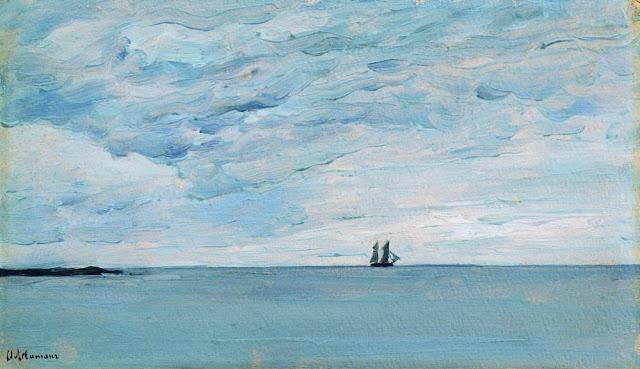 Исаак Ильич Левитан - Море у финляндских берегов. 1896