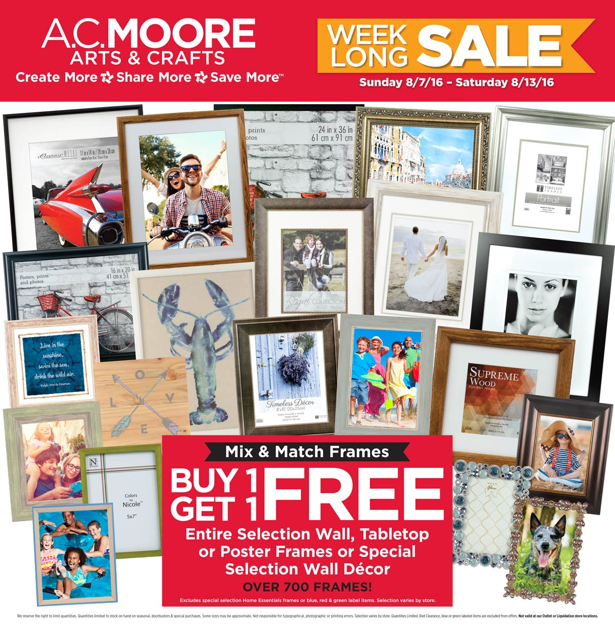 here are ac moore ad this week 872016 8132016