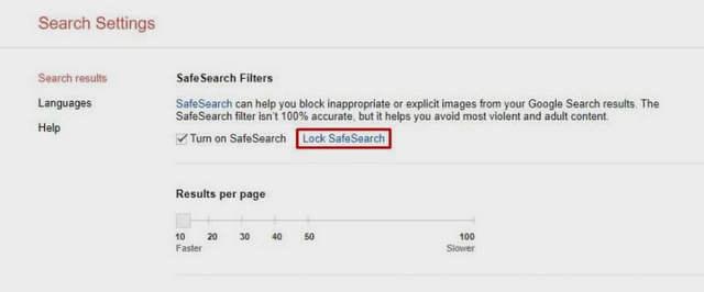 تفعيل ميزة البحث الآمن في جوجل لتجنب نتائج البحث السيئة والغير أخلاقيه