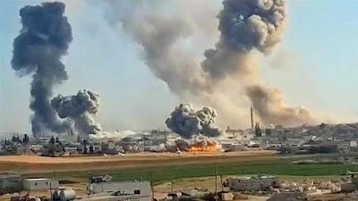 Setidaknya Lima Tewas Dalam Serangan Baru di Barat Laut Suriah