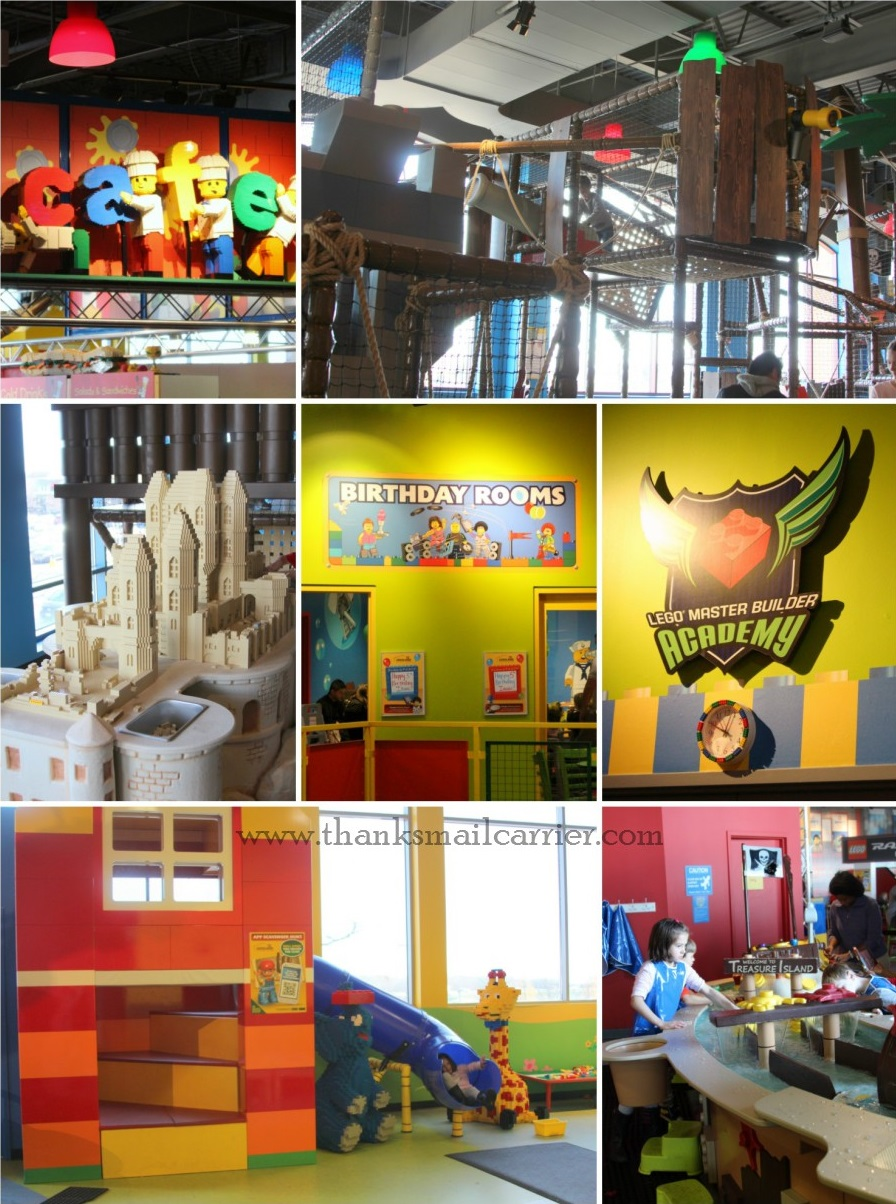 Legoland Discovery Center Chicago 2nd floor