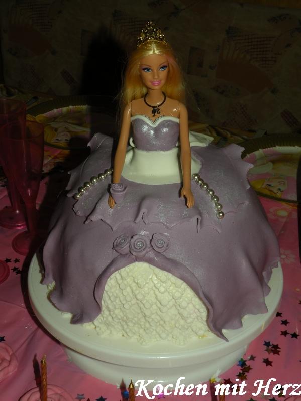 Kochen Mit Herz Barbie Torte