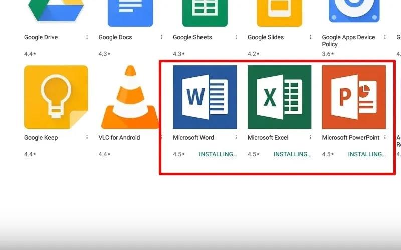 مايكروسوفت أوفيس لجهاز Chromebook 2