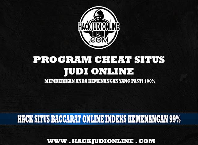 Hack Situs Baccarat Online Indeks Kemenangan 99%