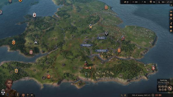 Crusader Kings III map