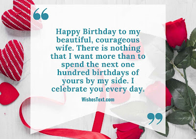 happy birthday wife wishes