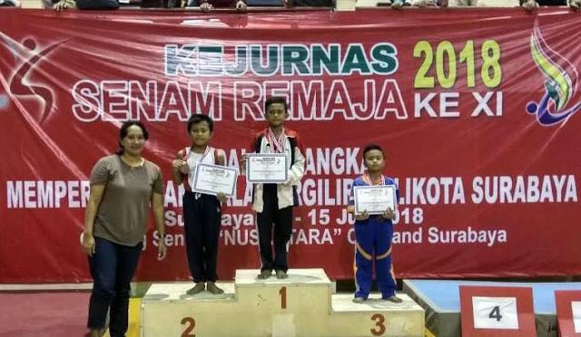 Atlet cabang olahraga senam yang raih medali