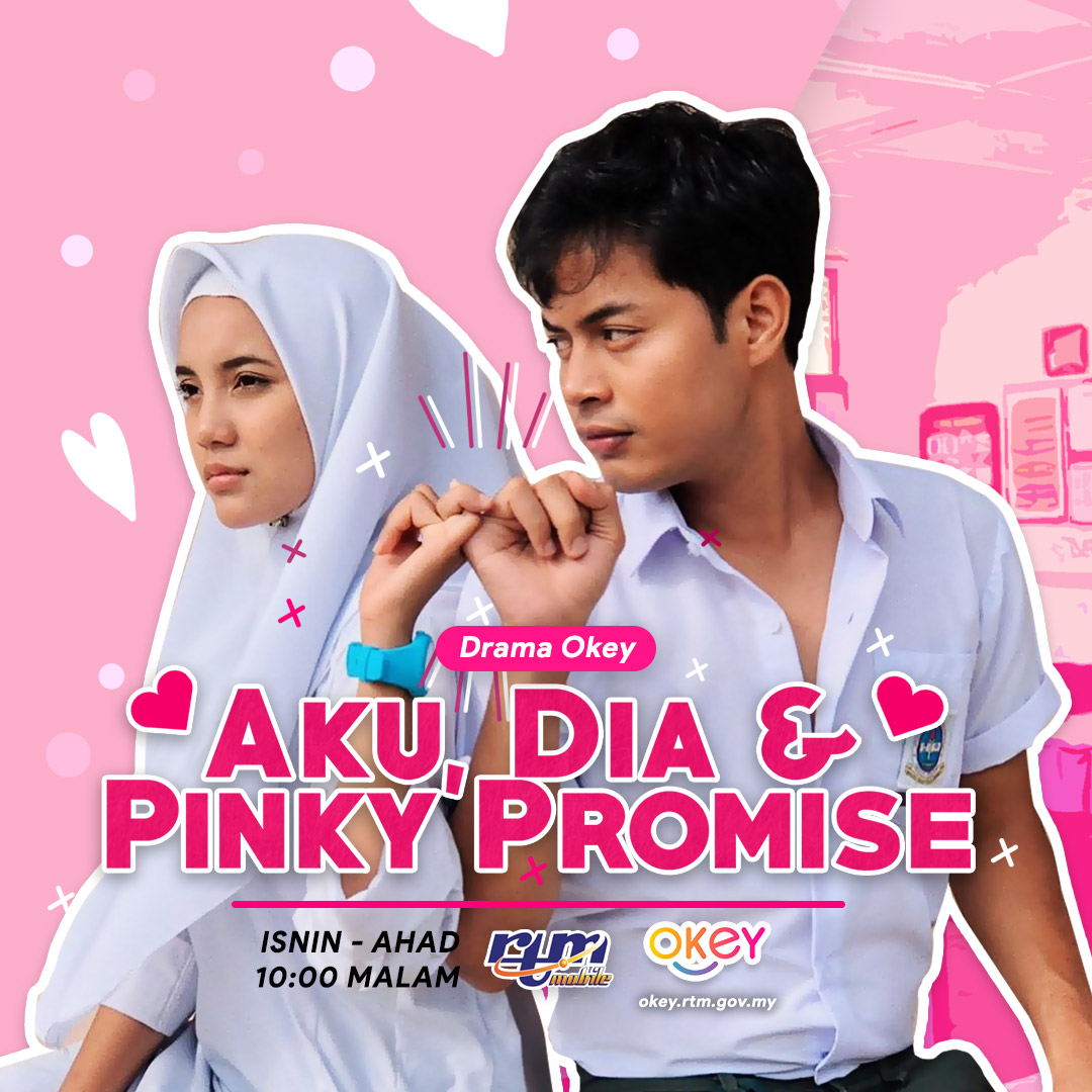 Tonton Aku, Dia & Pinky Promise (TV Okey) Streaming