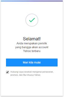 Cara Membuat Email Baru YAHOO Indonesia Terbaru 31
