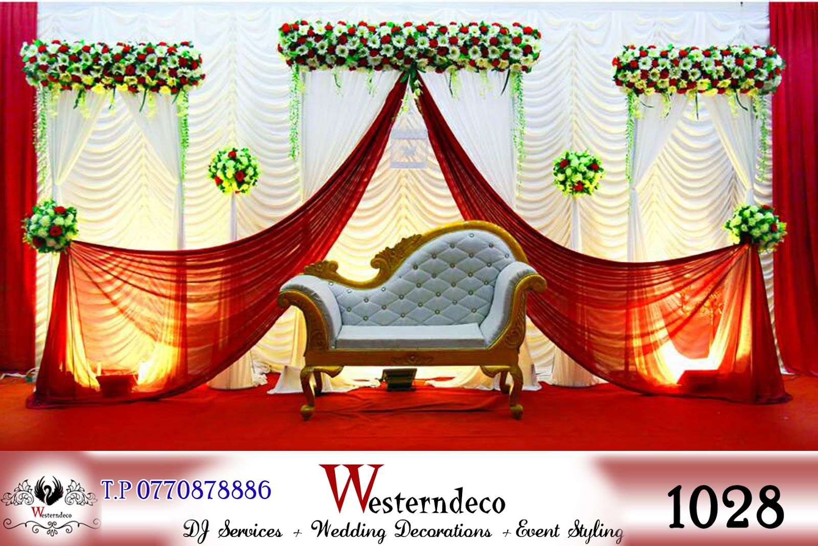 Stage Decoration Our Modern Curtain Stage Decoration Western Decoration