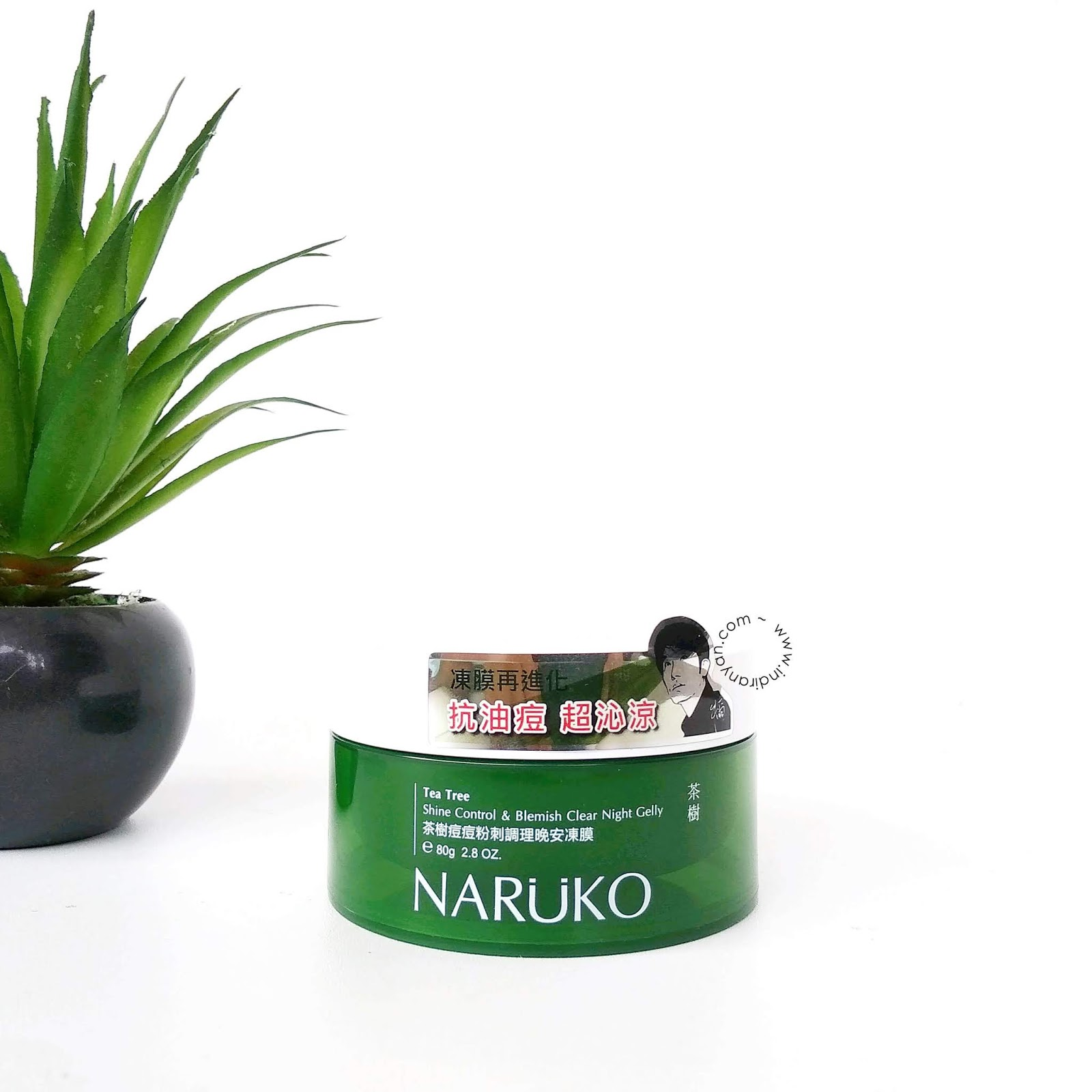 naruko-tea-tre-shine-control-blemish-clear-night-gelly-review-indonesia